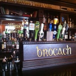 Photo taken at Brocach Irish Pub by Steve D. on 9/28/2011