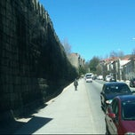 Photo taken at Muralhas da Cidade de Guimarães by Carlos C. on 3/20/2012