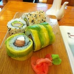 Photo taken at Sushihana by Fran G. on 6/26/2012