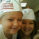 Photo taken at Krispy Kreme Doughnuts by Shannon L. on 10/14/2011
