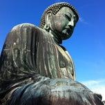 Photo taken at 鎌倉大仏 (Great Buddha of Kamakura) by Hide K. on 9/8/2012