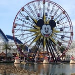 Photo taken at Mickey's Fun Wheel by Andrew on 4/19/2012