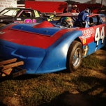 Photo taken at Portsmouth Raceway Park by Megan W. on 8/18/2012