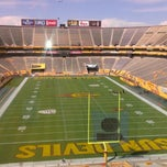 Photo taken at Sun Devil Stadium by Dan T. on 8/30/2012
