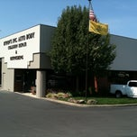 Photo taken at Byrons Auto Body by Joe G. on 9/12/2011