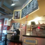 Photo taken at Jimmy John's by Bridget on 1/16/2012