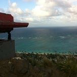 Photo taken at Lanikai Pillboxes Hike by Vicki Y. on 4/18/2012