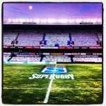 Photo taken at Free State Stadium (Vodacom Park) by Scott A. on 5/4/2012