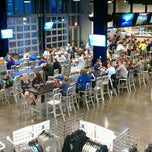Photo taken at Boulevard Members Club at Sporting Park by chad r. on 10/22/2011