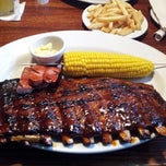 Photo taken at Tony Roma's Ribs, Seafood, & Steaks by Miguel A. on 6/2/2012