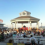 Photo taken at Rehoboth Beach Bandstand by Gardner G. on 6/23/2012