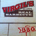 Photo taken at Virgil's Real BBQ by Kent D. on 4/1/2012