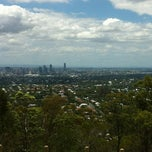 Photo taken at Mount Gravatt Outlook by Matthew M. on 1/3/2012