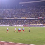 Photo taken at stadium ipoh by Ar J. on 10/14/2011