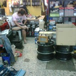 Photo taken at Weng Tat Tyre Service by Asif I. on 11/6/2011