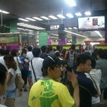 Photo taken at 地铁广州火车站 - Guangzhou Railway Station Metro Station by K M. on 8/20/2011
