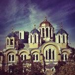 Photo taken at Володимирський собор / Volodymyrsky Cathedral by Mikhail G. on 9/12/2012