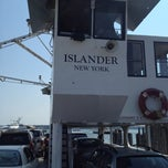 Photo taken at North Ferry - Greenport Terminal by Jon C. on 9/1/2012