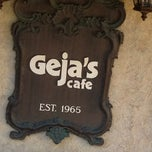 Photo taken at Geja's Cafe by Darrell N. on 6/12/2012