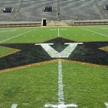 Photo taken at Vanderbilt Stadium - Dudley Field by Sean B. on 3/17/2012