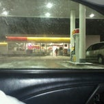 Photo taken at Shell by James V. on 1/6/2011
