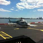 Photo taken at East 34th Street Heliport by Randall K. on 8/11/2011