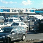 Photo taken at Hypermarché Carrefour by Thomas S. on 10/26/2011