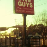 Photo taken at Five Guys by Tristan on 2/28/2012
