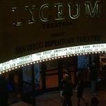 Photo taken at Lyceum Theatre by Tara B. on 11/12/2011