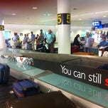 Photo taken at Bagageudlevering / Baggage Reclaim by Susanne B. on 6/28/2011
