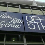 Photo taken at Saks Fifth Avenue OFF 5TH by marqsean on 8/11/2011