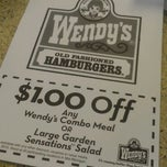 Photo taken at Wendy's by Terence W. on 5/10/2012