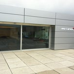 Photo taken at McLaren Flagshipstore by René on 4/22/2012