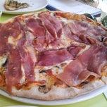 Photo taken at Olio Pizzeria by Tarek G. on 6/4/2012