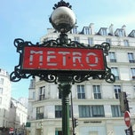 Photo taken at Métro Odéon [4,10] by Charles B. on 5/18/2012