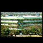 Photo taken at Ruang Kuliah 403 Fakultas Kedokteran UMI by Dhewi S. on 4/23/2012