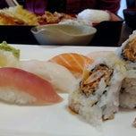 Photo taken at Sushi One by H Teresa K. on 5/18/2012