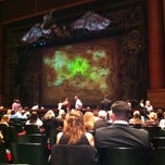 Photo taken at Wicked, Broadway in Jacksonville by Mark S. on 1/22/2012