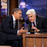 Photo taken at The Tonight Show with Jay Leno by The White House on 10/26/2011