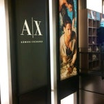 Photo taken at Armani Exchange by Taylor T. on 7/10/2011