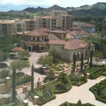 Photo taken at Hilton Lake Las Vegas Resort & Spa by Allison J. on 7/19/2012