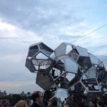 Photo taken at Cloud City on the Met Roof by Jon S. on 8/11/2012