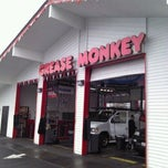Photo taken at Grease Monkey by David K. on 2/25/2012