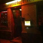Photo taken at Kaffee Burger by Nico R. on 5/17/2012