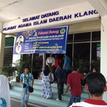 Photo taken at Pejabat Agama Islam Daerah Klang by Shahabudain H. on 5/19/2012