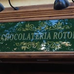 Photo taken at Chocolateria Rotonda by Carlos R. on 6/14/2012