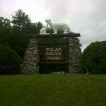 Photo taken at Polar Caves Park by Mikey D. on 6/18/2012