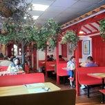 Photo taken at Pollo A La Brasa Mario Colombian Restaurant by Kelly on 8/10/2011