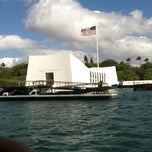 Photo taken at USS Arizona Memorial by Alex M. on 7/8/2012