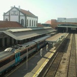 Photo taken at Estação Ferroviária de Viana do Castelo by Angela A. on 10/14/2011